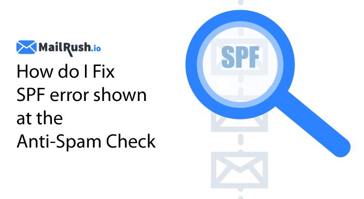 SPF Fix Error