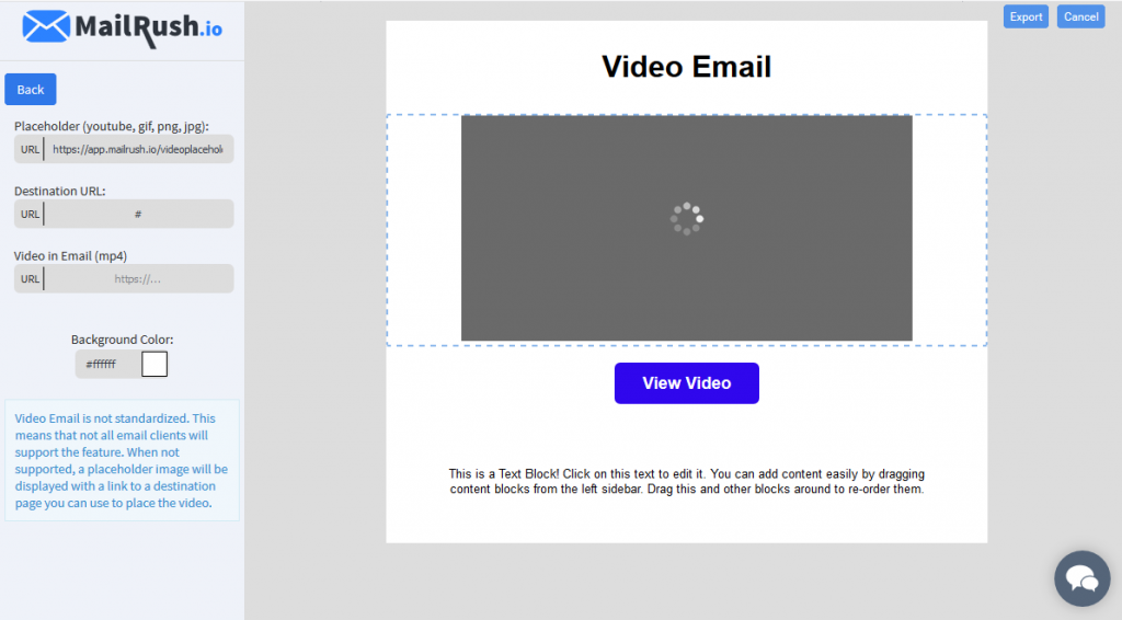 video email
